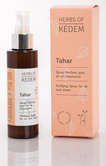 Herbs of Kedem Tahar desinfitseeriv pihusti jalatsitele ja ruumidele 120 ml