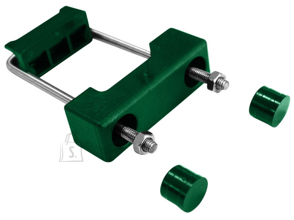 Aiapaneeli U-kinnitus 60*40 postile, roheline plastik (RAL6005)