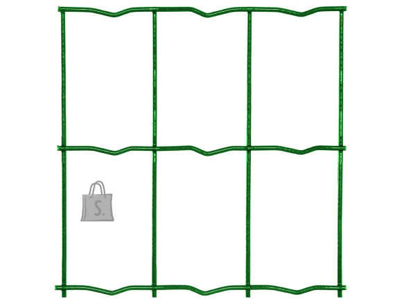 Keevisvõrk MIDDLE H1500mm; 50*100/2,2mm; 25m; Zn+PVC (roheline)