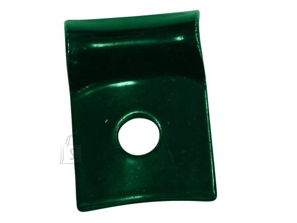Poolkuu kinnitus, tsink+RAL (roheline)