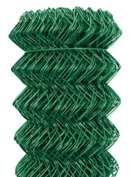 Punutud võrk IDEAL H1500mm; 50*50/2,5mm; 25m; tsink+PVC (roheline)
