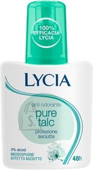 Lycia Pure Talc pihustiga deodorant higilõhna neutraliseerija