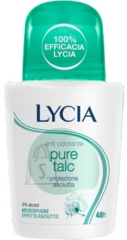 Lycia Pure Talc roll-on deodorant higilõhna neutraliseerija