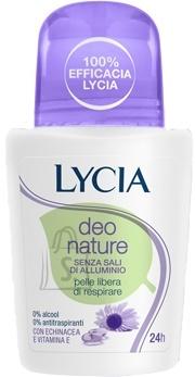 Lycia Deo Nature roll-on deodorant higilõhna neutraliseerija