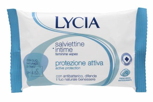Lycia Attiva antibakteriaalsed intiimsalvrätikud 12 tk
