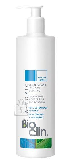 BioClin A-Topic väga kuiva tundliku naha niisutav ja rahustav puhastusgeel 200ml