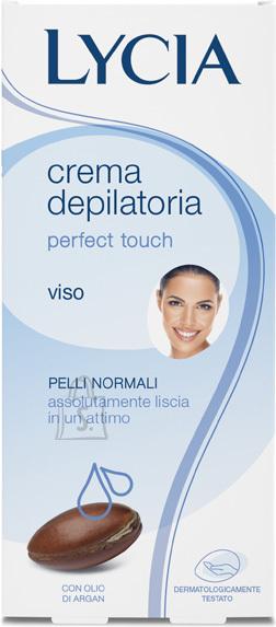 Lycia Perfect Touch depilatsioonikreem näole 50 ml