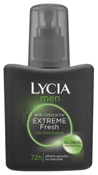Lycia Men Extreme Fresh pihustiga deodorant higilõhna neutraliseerija 75ml x 3tk