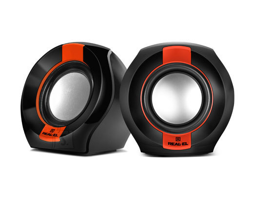 REAL-EL S-50 2.0 USB Multimedia Speaker System / Kõlarid