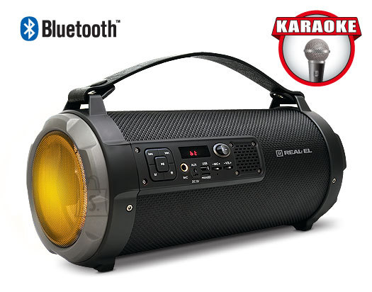 REAL-EL X-730 portable speaker system / 20W