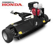 ATV hooldusniiduk - multšija koos Honda GX 390 mootoriga, must