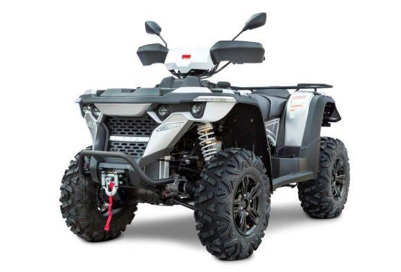 Linhai ATV M550L EFI 4X4 AR EPS Euro 4, vints + konks