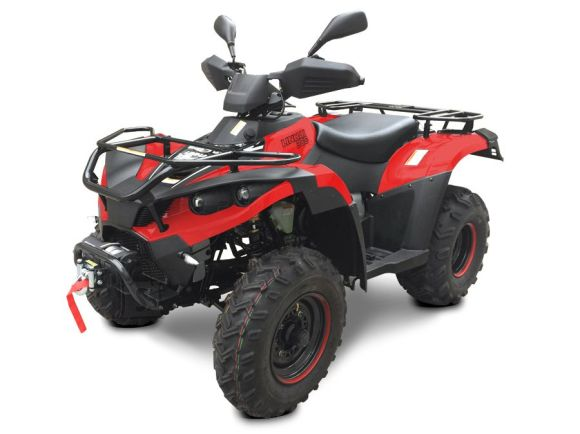 Linhai ATV 300cc 4x4 SR T3b, vints + konks
