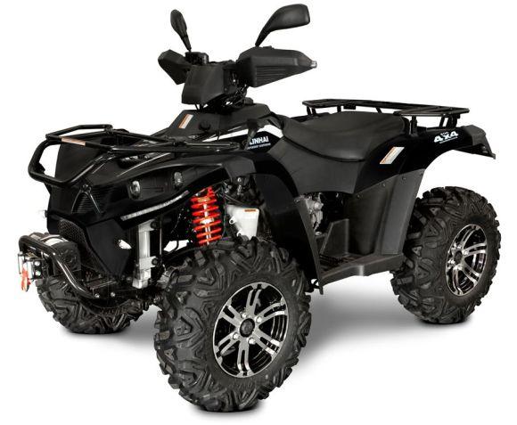 Linhai ATV 500cc 4x4 EFi EURO4 L7e, vints + konks