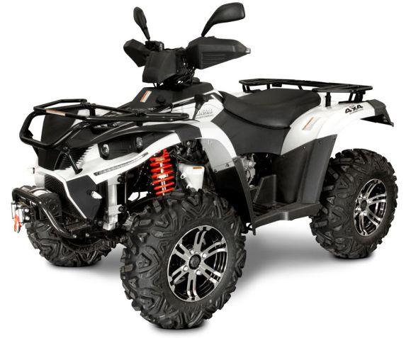 Linhai ATV 500cc 4x4 AR T3b, vints + konks