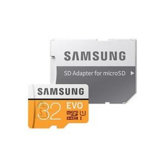 Samsung microSD mälukaart EVO 32GB, Class 10