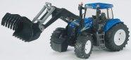 Bruder mängusõiduk traktor New Holland laaduriga