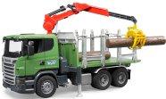 Bruder mängusõiduk Scania metsaveoauto