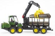 Bruder mängusõiduk John Deere 1210E metsaveomasin
