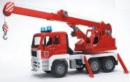 Bruder mängusõiduk Man tuletõrjekraana heli ja valgusega