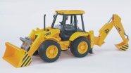 Bruder mängusõiduk JCB 4CX traktor-ekskavaator
