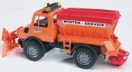 Bruder mängusõiduk MB Unimog lumekoristusmasin