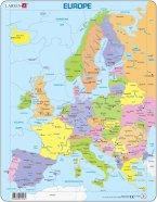 Larsen pusle Euroopa kaart 37 tk
