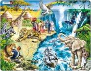 Larsen pusle Dr. Livingstone Aafrikas 81 tk