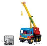 Wader Middle-Truck mänguautod: tuletõrjeauto, seguauto, prügiauto või kraana