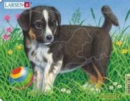 Larsen pusle koerad-kassid 6 tk