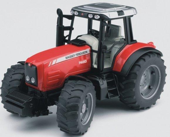 Bruder mängusõiduk Massey Ferguson traktor