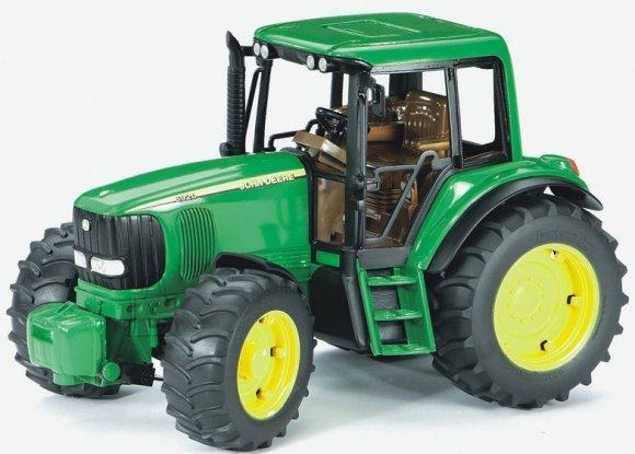 Bruder mängusõiduk John Deere traktor