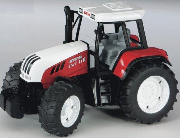 Bruder mängusõiduk traktor Steyr CVT 170