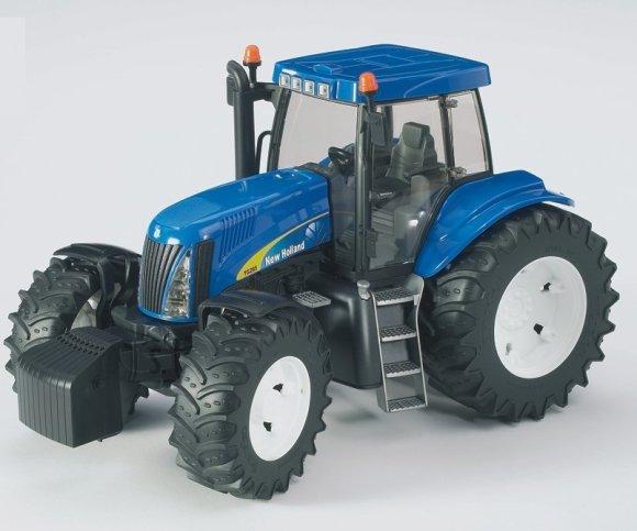 Bruder mängusõiduk New Holland T8040 traktor