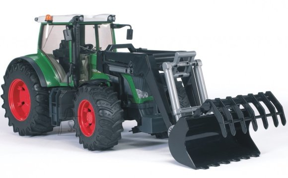 Bruder mängusõiduk traktor Fendt 936 Vario kopaga
