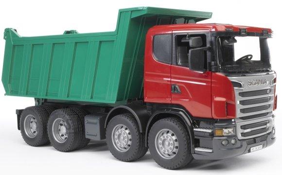 Bruder mängusõiduk Scania kallur