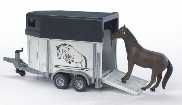 Bruder mängusõiduki hobutreiler 1 hobusega