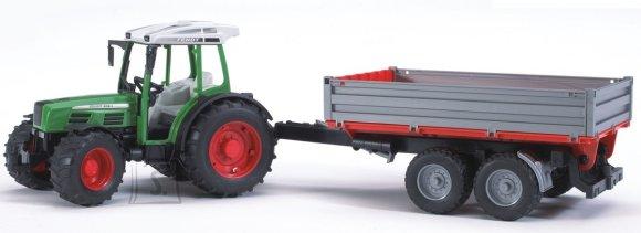 Bruder mängusõiduk Fendt 209S traktor järelhaagisega