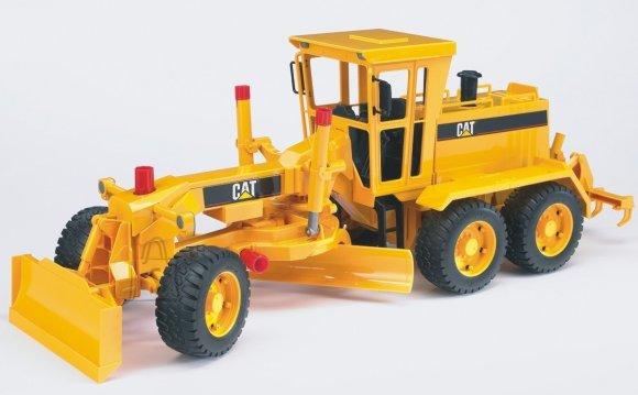 Bruder mängusõiduk Caterpillar teehöövel