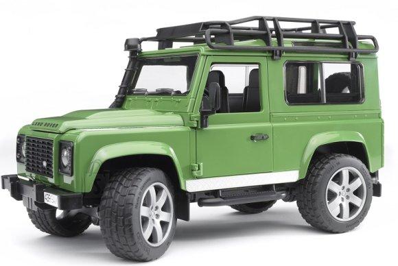 Bruder mängusõiduk Land Rover Defender