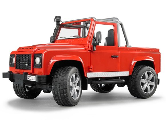 Bruder mängusõiduk Land Rover Defender Pick Up