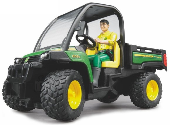 Bruder mängusõiduk John Deere Gator XUV koos juhiga