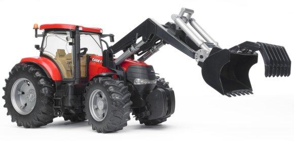 Bruder mängusõiduk Case CVX 230 traktor esilaaduriga