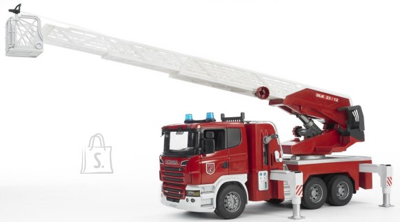 Bruder mängusõiduk Scania tuletõrjeauto heli ja valgusega
