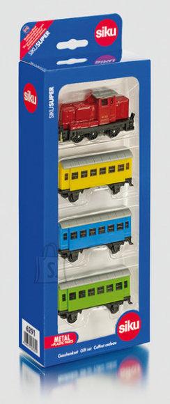 Siku mudelikomplekt raudtee