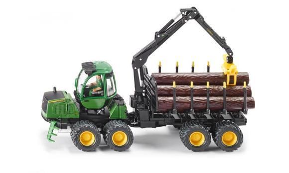 Siku mudelsõiduk metsaveo traktor John Deere