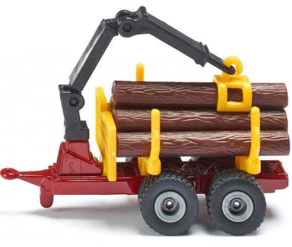 Siku mudelsõiduki metsaveohaagis
