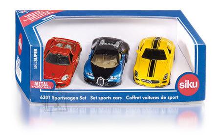 Siku mudelikomplekt sportautod