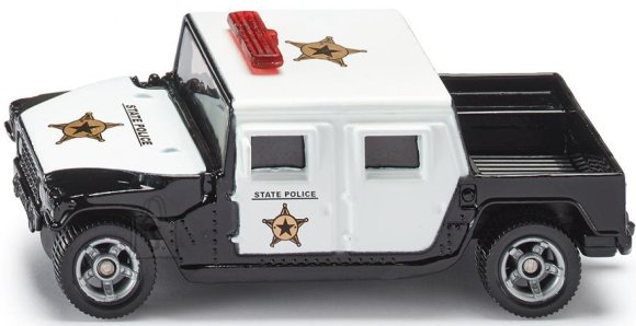 Siku mudelsõiduk USA politseiauto