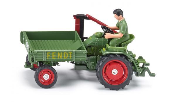 Siku mudelsõiduk Fendt tööriistamasin